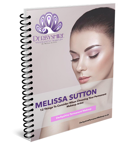 Derbyshire Permanent Makeup 3D ebook cover